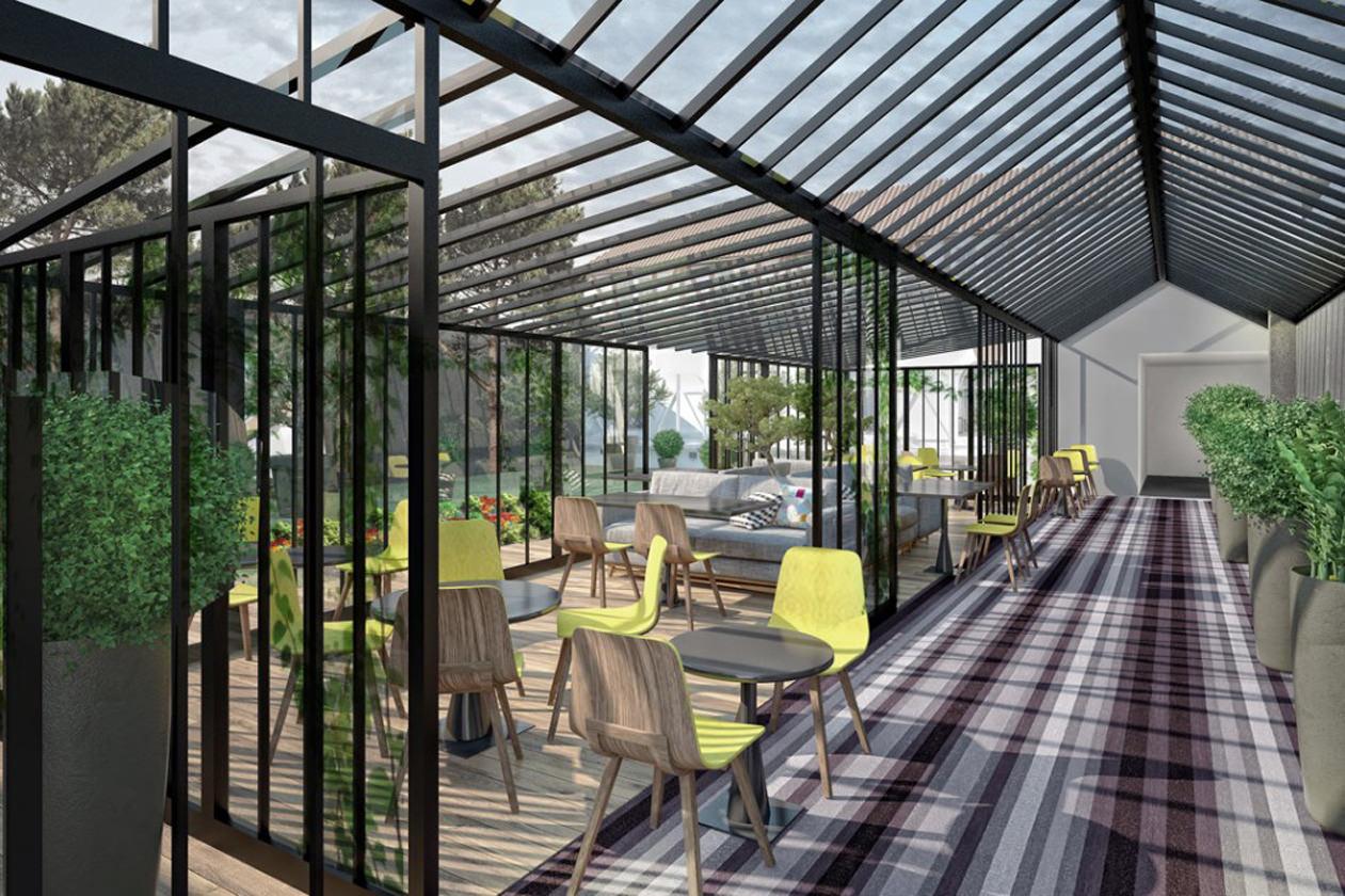Assez Hôtel Jardin de Neuilly – Michael Malapert – Interior Design  LJ95