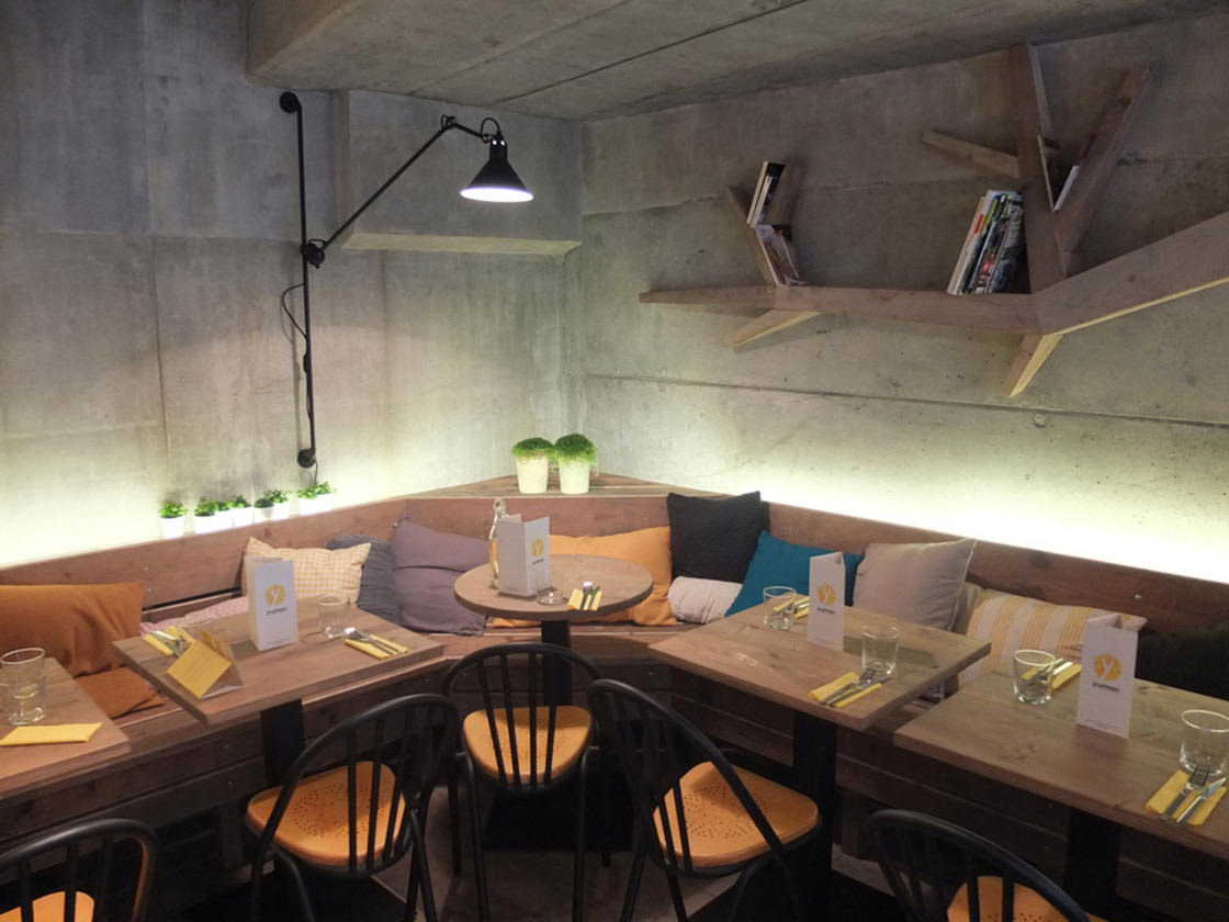 Restaurant Interieur Design.Michael Malapert Interior Design Restaurant Yuman Paris 09