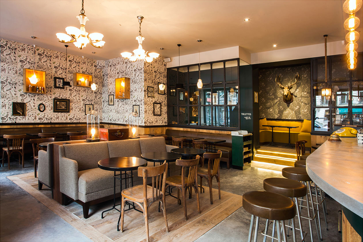Restaurant Interieur Design.Michael Malapert Interior Design Restaurant Le Colonel
