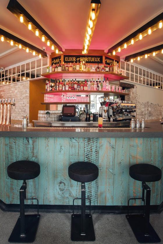 michael malapert interior design bar a cocktail la mere pouchet paris 02 michael malapert interior design architecte dintrieur paris