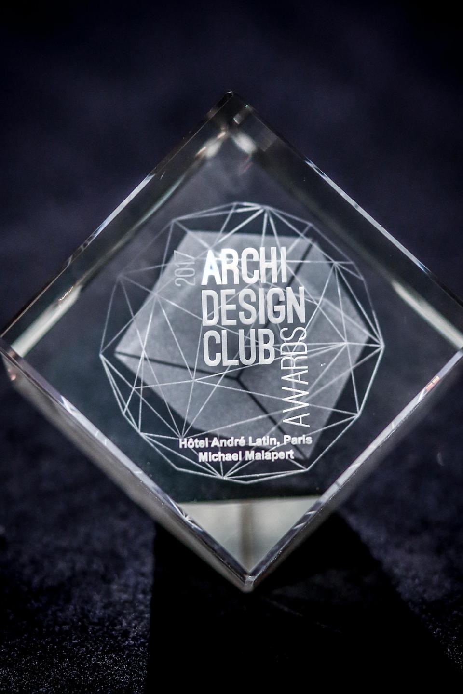 Lauréat du Archidesignclub Awards en hôtellerie