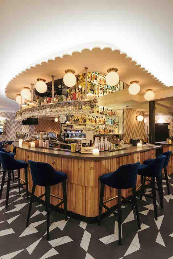 Michael malapert interior design restaurant le musset bar paris michael malapert interior design architecte dintérieur paris