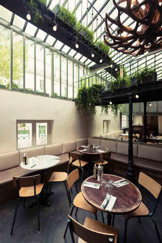 Michael malapert interior design restaurant italien fuxia salle verriere paris michael malapert interior design architecte dintérieur paris